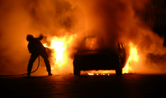 What happens if your car catches fire (1)